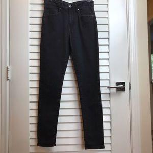 Levi's Black 721 Hi Rise Skinny Jeans
